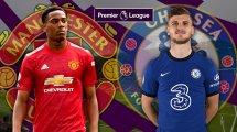 Les compositions de Manchester United - Chelsea sont tombées
