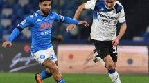 Coupe d'Italie : le Napoli et Atalanta dos à dos
