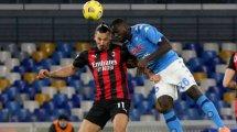 Serie A : un grand Ibrahimovic permet à l'AC Milan de s'imposer à Naples