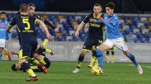 Serie A : Naples se rassure face à Parme et rattrape son retard