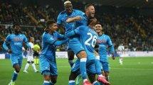 Serie A : carton plein pour le Napoli, la Lazio arrache le nul