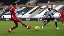 Premier League : Liverpool à nouveau freiné par Newcastle