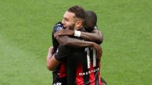 Ligue 1 : l'OGC Nice s'en sort bien et enfonce l'AS Saint-Etienne