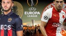 Nice-Slavia Prague : les compositions probables