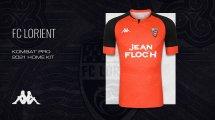 Le FC Lorient présente ses nouveaux maillots pour la saison 2020/2021
