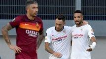 Ligue Europa : le Séville FC dompte l'AS Roma et accède aux quarts de finale