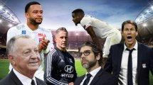 La saison invraisemblable de l'Olympique Lyonnais