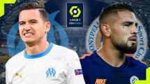 OM-Montpellier : les compositions d'équipes