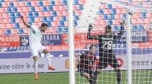 Serie A : Sassuolo enchaîne et renverse Bologne
