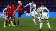 Liga : Valladolid dispose d'Osasuna