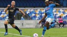 Serie A : Naples ne fait qu'une bouchée du Genoa, l'AC Milan dispose de Crotone