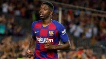 Barça : Ousmane Dembélé forfait contre Getafe !
