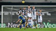 Serie A : le Héllas Vérone l'emporte sur Parme