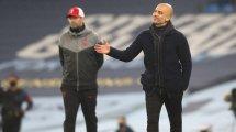 Pep Guardiola rend hommage à Jürgen Klopp