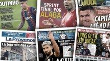 La fin de l'ère Sergio Agüero à Manchester City déchaine la presse anglaise, le FC Barcelone ne sait plus quoi faire avec Philippe Coutinho