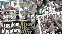 Gerard Piqué dresse un constat implacable sur les maux du Barça, la presse italienne s'enflamme pour Edin Džeko