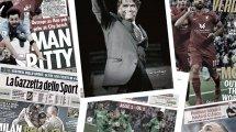 La presse française rend hommage à Bernard Tapie, Pep Guardiola enrage contre le cracheur fou d'Anfield