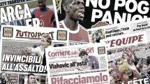 Les retrouvailles tendues de Gianluigi Donnarumma avec Milan, Manchester United change son fusil d'épaule dans le dossier Paul Pogba