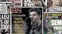 La sortie médiatique de Thibaut Courtois fait polémique en Espagne, Nelson Semedo est la clé du mercato du Barça
