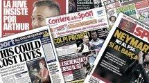 Le clash Balotelli-Chiellini fait les gros titres en Italie, la Juventus ne lâche pas Arthur