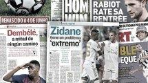 Le Barça veut se débarrasser d'Ousmane Dembélé, le problème de riche de Zinedine Zidane