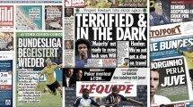 Le retour de la Bundesliga fait les gros titres en Europe, José Mourinho a pris sa décision pour Tanguy Ndombele