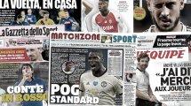 Paul Pogba régale l'Angleterre, Antonio Conte prend cher en Italie
