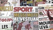 Le vestiaire du Barça touché par la sortie médiatique de Lionel Messi, Tottenham a trouvé son attaquant