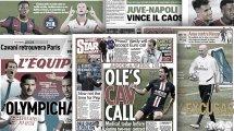 Le contrat en or qui attend Edinson Cavani à Manchester United, énorme imbroglio autour du match Juve-Naples