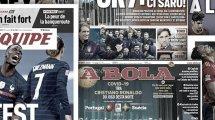 Le test positif de Cristiano Ronaldo secoue la presse mondiale