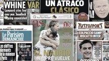La presse catalane enrage sur l'arbitrage du Clasico, les médias madrilènes se régalent