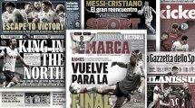 L'Europe attend avec impatience les grandes retrouvailles entre Lionel Messi et Cristiano Ronaldo, la nouvelle blessure d'Ousmane Dembelé fait la Une