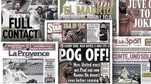 L'Angleterre veut se débarrasser de Paul Pogba, la polémique João Félix enfle en Espagne