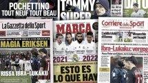 La bagarre Ibrahimovic-Lukaku fait jaser en Italie, la politique de prolongation du Real Madrid pose question