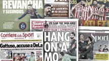 Le clash entre Gattuso et De Laurentiis enflamme l'Italie, Mohamed Salah régale l'Angleterre