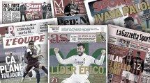 La presse européenne s'enflamme pour Karim Benzema, Ole Gunnar Solskjaer cartonne José Mourinho