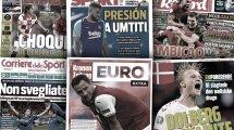La presse italienne s'embrase après la qualification de la Squadra Azzura, le mercato du FC Barcelone en pleine ébullition