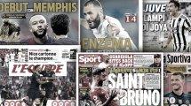 La présentation de Lionel Messi au PSG fait le tour de l'Europe, la masterclass de Bruno Fernandes fait chavirer l'Angleterre