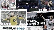 Le Real Madrid va se jeter sur Haaland dès cet hiver, le grand retour de Benzema à Lyon agite la France