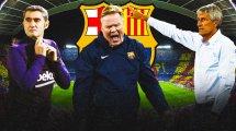 JT Foot Mercato : la valse des entraîneurs continue à Barcelone