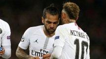 Dani Alves conseille Neymar pour son avenir