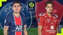 PSG - Brest : les compositions probables