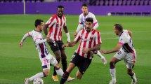 Liga : l'Athletic chute à Valladolid, Levante et Alavés dos à dos