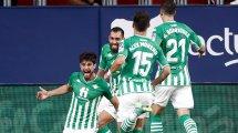 Liga : le Betis écrase Valence et grimpe sur le podium