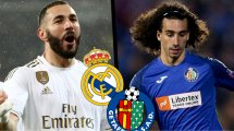 Real Madrid-Getafe : les compositions officielles !