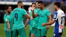 Liga : le Real Madrid enfonce l'Espanyol et s'empare seul du fauteuil de leader