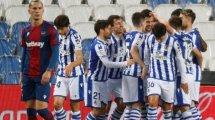 Liga : la Real Sociedad bat Levante et conforte sa 5e place