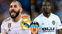 Real Madrid-Valencia CF : les compositions officielles