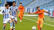 Liga : Valence et la Real Sociedad dos à dos