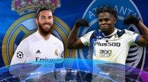 Real Madrid - Atalanta : les compositions officielles